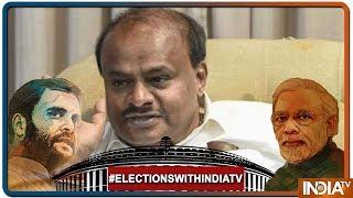 Lok Sabha Election 2019: Voting for 14 seats in Karnataka to test jittery JD(S)-Congress alliance - INDIATV