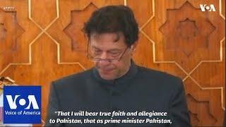 Imran Khan Sworn In as Pakistan's Prime Minister - VOAVIDEO