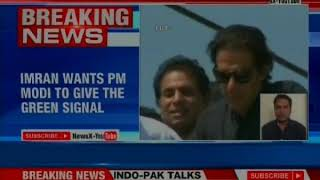Pak PM Imran Khan writes to PM Narendra Modi, seeks dialogue between the two nations at UN - NEWSXLIVE