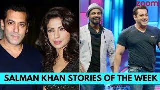 Priyanka Opposite Salman In 'Bharat', Remo Not Happy With 'Race 3' | Salman Khan Stories Of The Week - ZOOMDEKHO