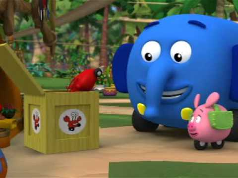 Przystanek dżungla - Szalony wzrostomat. Oglądaj w Disney Junior!