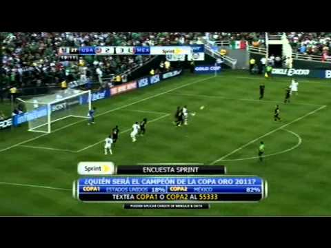 2011 Gold Cup Final: United States vs Mexico , Full Game - 2nd Half