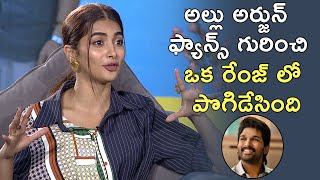 Special Interview: Pooja Hegde About Allu Arjun Fan Following | TFPC - TFPC