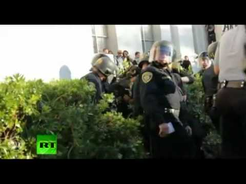 Occupy Cal: Police brutally beat, arrest Berkeley students