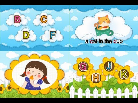 ABC Phonics Chant Song 4 - B C D F G H J K  (Level II-Consonant)  | muffin songs