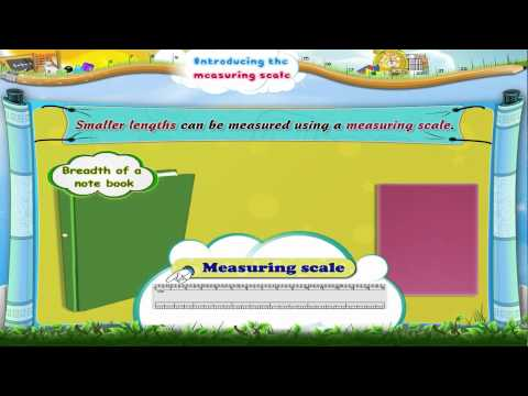 Learn Grade 3 - Maths - Introducing The Measuring Scale