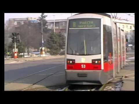 Tramvaie in Oradea 1 - Trams in Oradea 1 (27 01 2010)