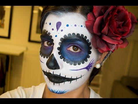 Maquillaje Halloween: Catrina Mexicana | por Natalia Carballo