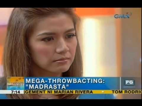 UH Throwbacting Challenge: Rhea Santos acts out a scene in 'Madrasta' | Unang Hirit