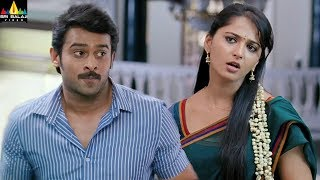 Anushka and Prabhas Scenes Back to Back | Mirchi | Latest Telugu Movie Scenes | Sri Balaji Video - SRIBALAJIMOVIES