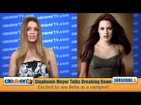 Stephenie Meyer Talks Kristen Stewart's 'Breaking Dawn' Transformation
