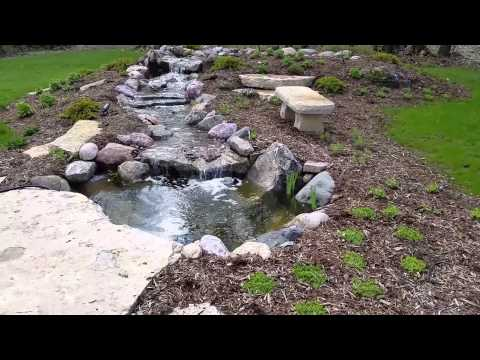 A Pretty Pond With a Bridge