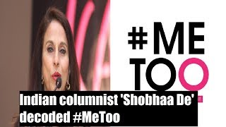 Shobhaa De explains all what you wanted to know about #MeToo | No Holds Barred - NEWSXLIVE