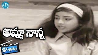 Amma Nanna Movie Scenes - Radha Goes To Meet Her Daughter ||  Krishnam Raju || Raja Babu - IDREAMMOVIES