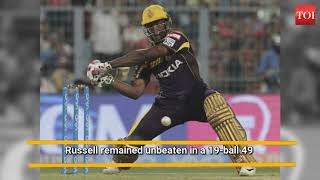 How Andre Russell stole David Warner's thunder - INDIATIMES