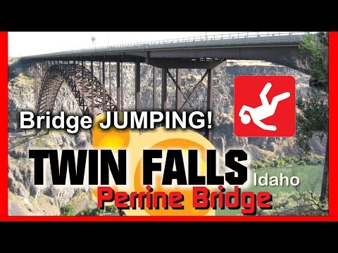 Base Jumping Bridge Twin Falls Idaho U.S.A.