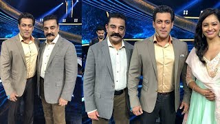 Salman Khan And Kamal Hasan Together First Time | Vishwaroopam 2 Promotion At Dus Ka Dum, Mumbai - RAJSHRITELUGU