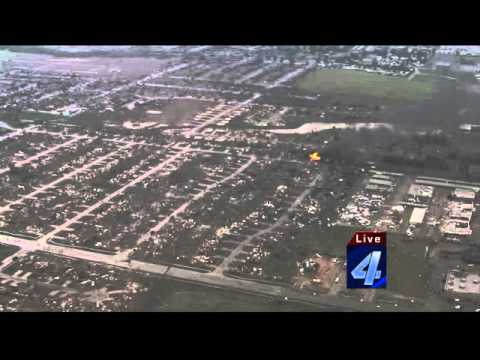 May 20 Moore, Oklahoma Tornado Storm Path