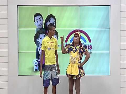Papeiro da Cinderela | Show de Aniversário Supermercados Arco-Íris  21/01/20115
