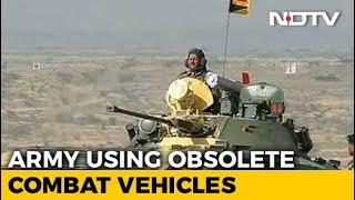 Army Using Obsolete Combat Vehicles As Project Not Cleared For 8 Years - NDTV