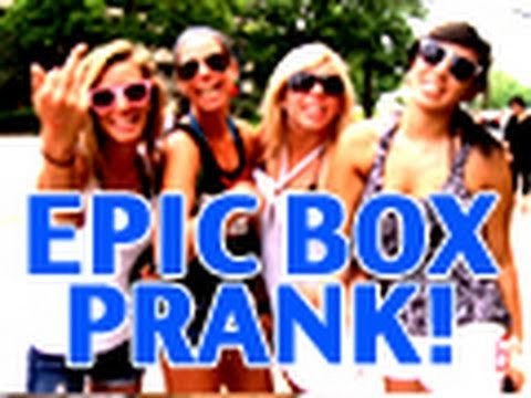 Epic Box Prank!!