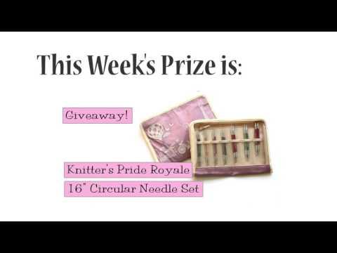 Winner Announced!  Knitter's Pride Royale 16