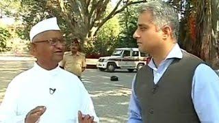 'Don't need a Kiran Bedi or Arvind Kejriwal,' says Anna Hazare - NDTVINDIA