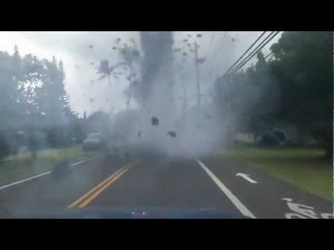 Tornado In Hawaii 2012