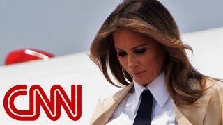 Reporter asks Melania Trump: Do you love your husband? - CNN