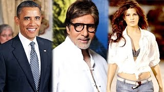 Bollywood News in 1 minute - 28/01/2015 - Barack Obama, Amitabh Bachchan, Jacqueline Fernandez