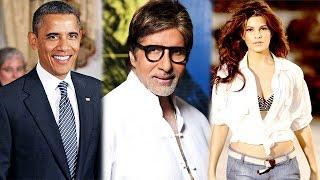 Bollywood News in 1 minute - 28/01/2015 - Barack Obama, Amitabh Bachchan, Jacqueline Fernandez