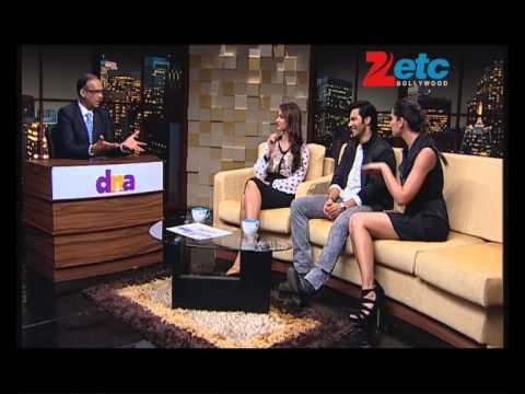 Varun Dhawan, Ileana D'Cruz and Nargis Fakhri with Komal Nahta - ETC Bollywood Business
