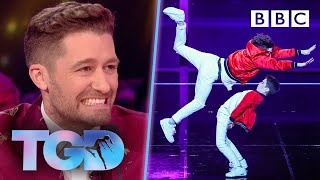Stylish James & Oliver in space challenge - The Greatest Dancer | LIVE - BBC