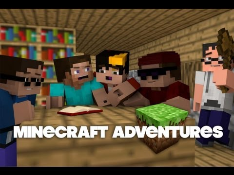 Minecraft Adventures Episode 1 The Beginning Animation