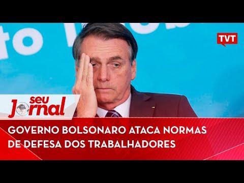 Bolsonaro ataca normas de defesa dos trabalhadores