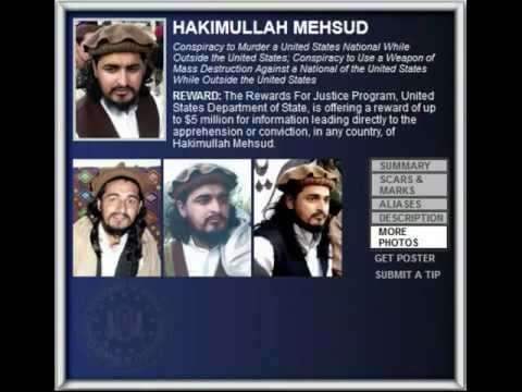 FBI Wanted 2012 - HAKIMULLAH MEHSUD ($5.000.000 Reward)