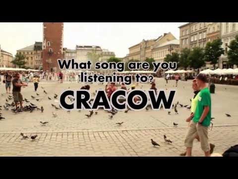 Video: Hey You! What song are you listening to Cracow? - Polish chicks are not only good looking, they also listen to classy stuff!