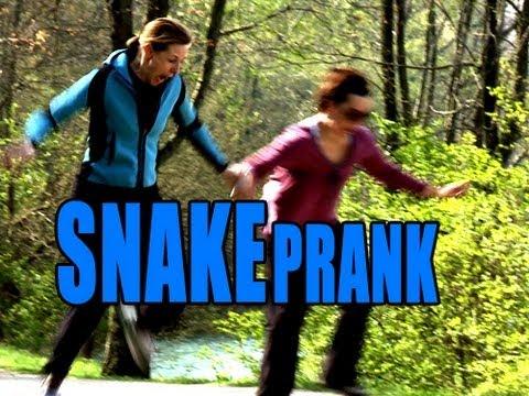 Epic Snake Prank - Park Edition