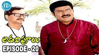Adavipoolu || Episode 20 || Telugu Daily Serial - IDREAMMOVIES