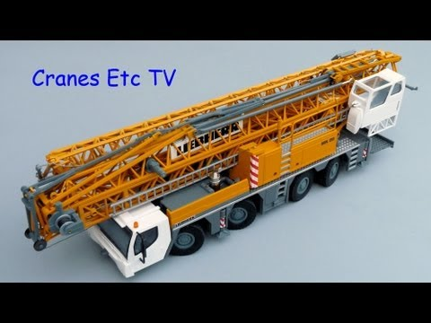 Cranes Etc TV: Conrad Liebherr MK 88 Mobile Crane Review