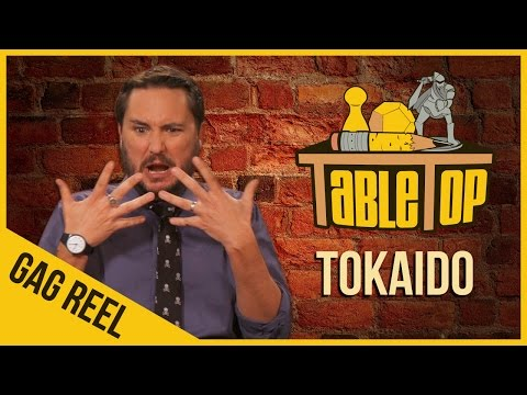 Tokaido - Gag Reel - TableTop Season 3 Ep. 1