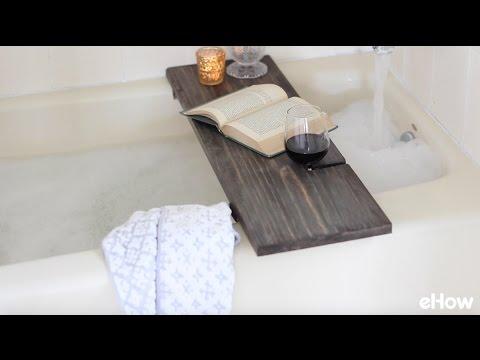 How To Make A Reclaimed Wood Bath Caddy