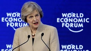Prime Minister Theresa May Affirms U.K. Trade Ambitions - WSJDIGITALNETWORK
