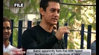 Aamir Khan upset with 'Happy New Year's hyped BO collections! - TOP STORY