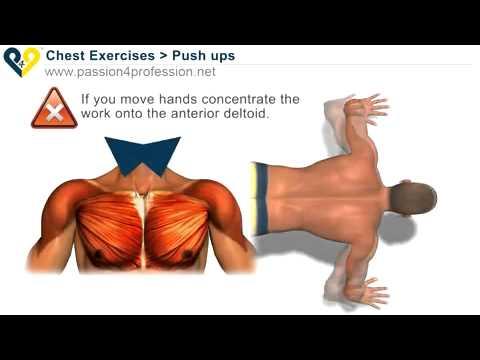 تمارين رياضية طريقة تكبير الصدر