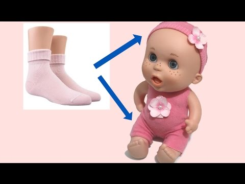 "Vestido para muñecos fácil. Mono ""Arianne"""