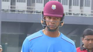 19 Oct, 2018: West Indies trains ahead of first ODI in northeast India - ANIINDIAFILE
