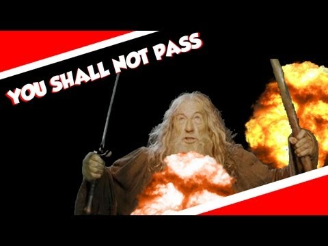 Gandalf tells students they must revise or they 