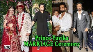 Prince- Yuvika MARRIED, Suniel, Ranvijay & others arrives in Style - IANSLIVE