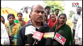 Doultabad Villagers Stop Tanur Kaleshwaram Project Works | Nirmal Dist | Mudhol Mandal | CVR NEWS - CVRNEWSOFFICIAL